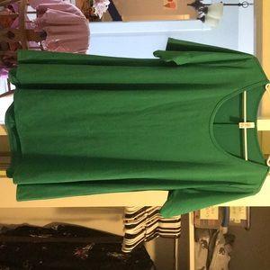 Emerald Green LuLaRoe Perfect T